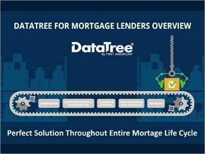 DataTree Mortgage Professional Video Overview