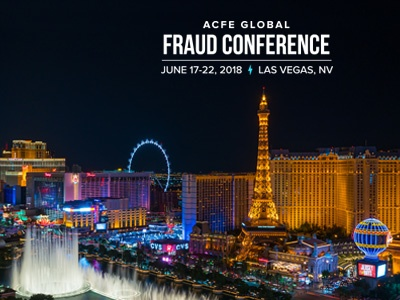29TH ANNUAL ACFE GLOBAL FRAUD CONFERENCE | LAS VEGAS, NV