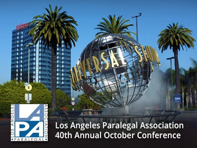 LAPA's 40th Annual October Conference: