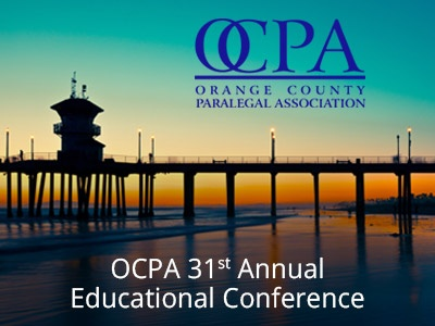 OCPA 31st Annual Educational Conference