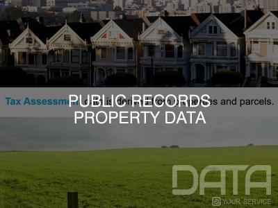 Public Records Property Data