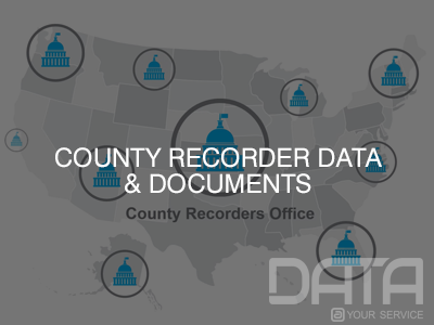 County Recorder Data & Documents