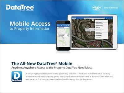 DataTree for Mobile Users Product Sheet