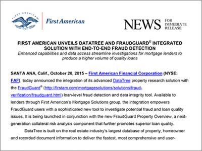 DataTree Press Release