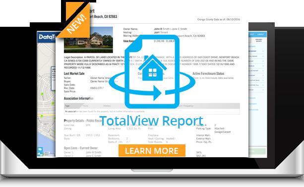 DataTree TotalView Report
